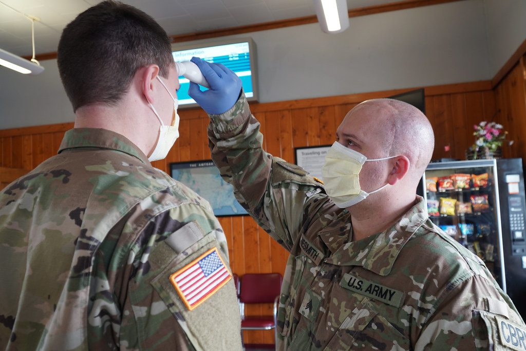 U.S Soldiers from Montana's 1-189th • Conduct Deployment Operations