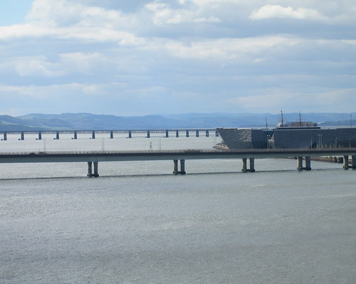 Tay Bridge and V&A Building