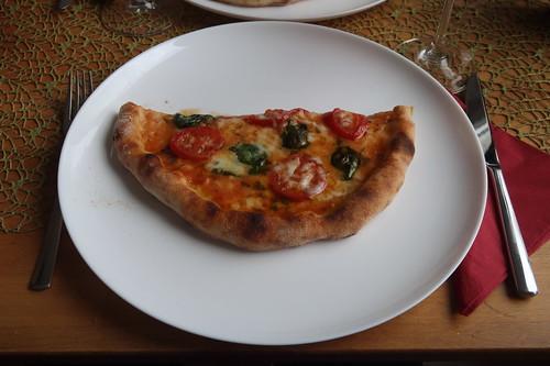 Meine Hälfte der Pizza Napoletana