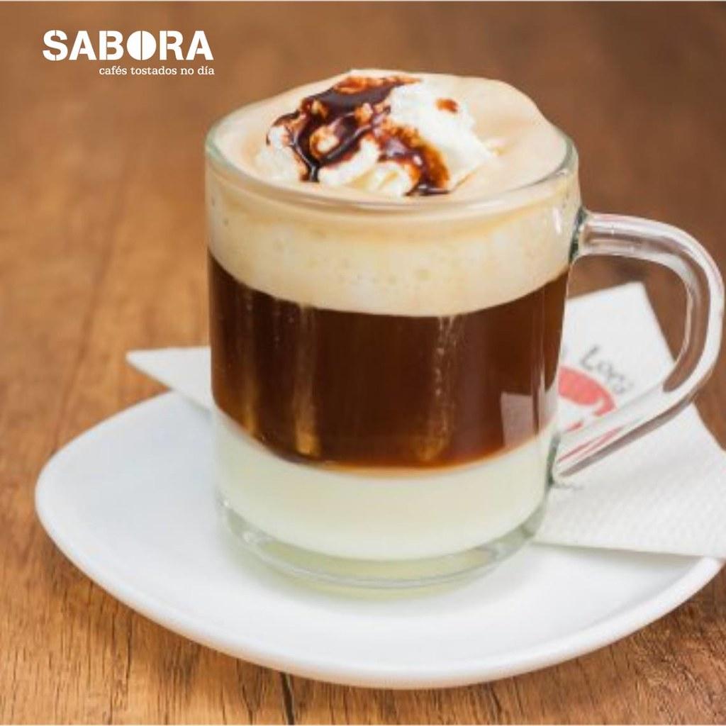 Café bombón con nata
