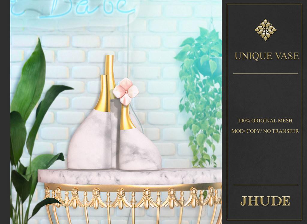 [JHUDE] Unique Vase