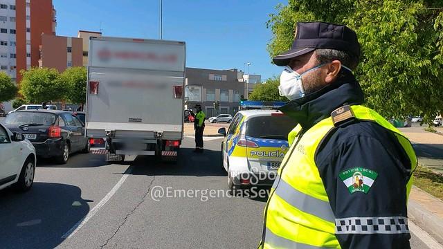 Estado de Alarma - Policía Local de Sevilla