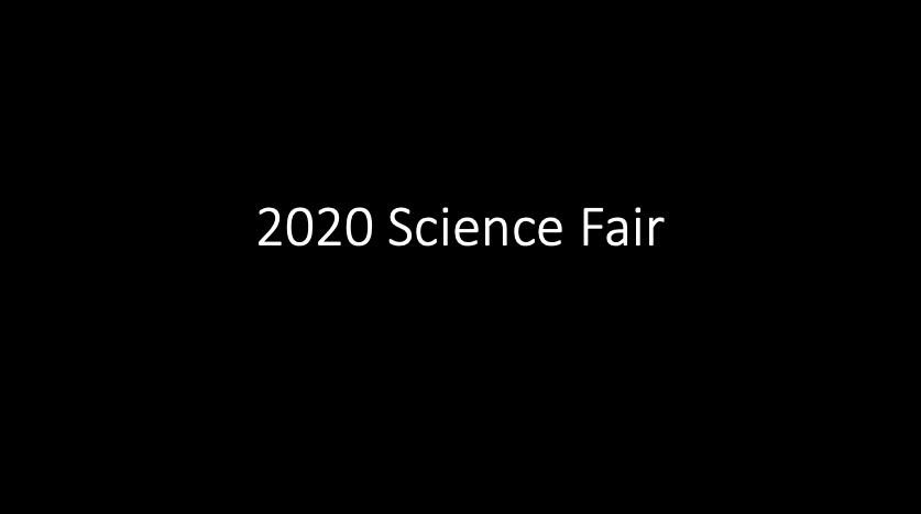 2020 Science Fair