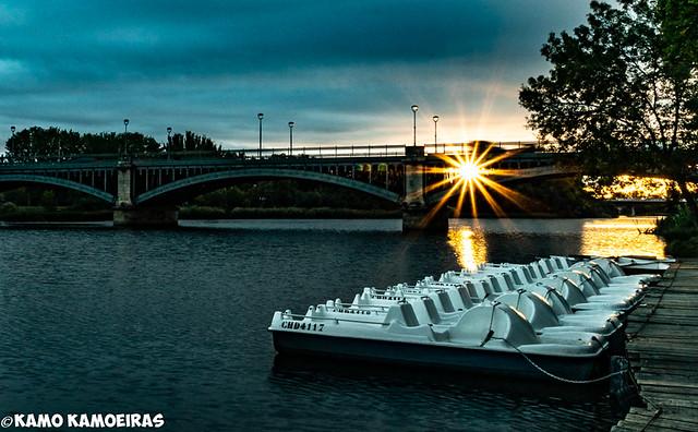 puente barcas