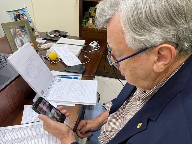 03/04/2020 Reunião com AOPA, Ministérios da Saúde e Casa Civil