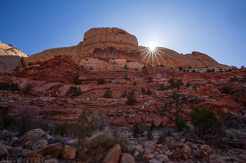 Canyon Sunburst