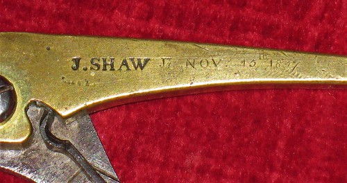 Another J. Shaw Brass Bullet Mould