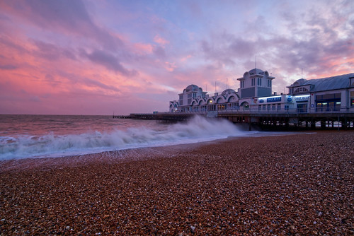 portsmouth southsea southparadepier southseabeach sunset sony ilce6300 february 2020