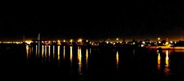Río Nazas de Noche.