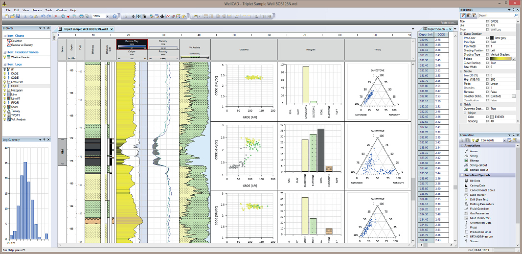 Working with Advanced Logic Technology WellCAD 5.3 full license