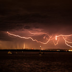 7. Märts 2020 - 12:53 - Lightning, seen from Stokes Hill Wharf, Darwin, Northern Territory, Australia