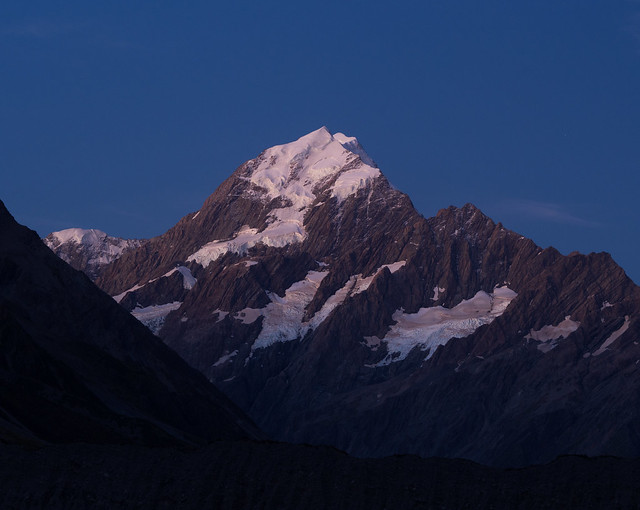 Aoraki/Mount Cook blue hour