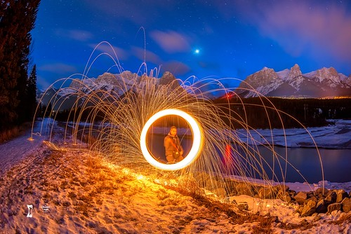 Firedance in Canmore