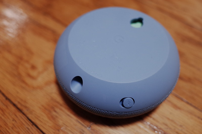 Google Nest Mini本体裏面