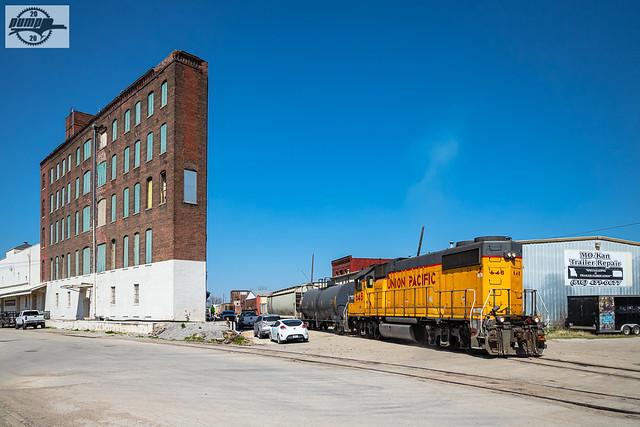 UP Yard Job Train at Kansas City, MO