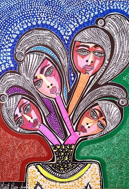 סיורי אמנות ישראלית מירית בן נון ציירת מודרנית עכשווית