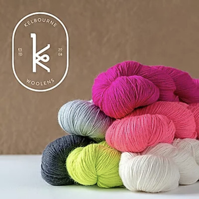 New in is Kelbourne Woolens Perennial - a light fingering mix of luxury and practicality. 60% Superwash Merino, 25% Suri Alpaca, 15% Nylon