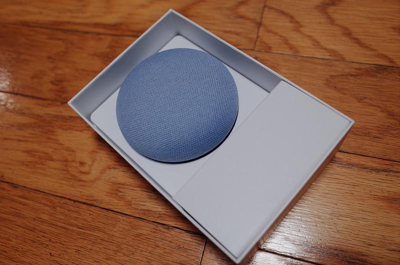 Google Nest Miniパッケージの中身