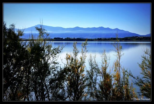 Bords du lac de Villeneuve-de-la-Raho