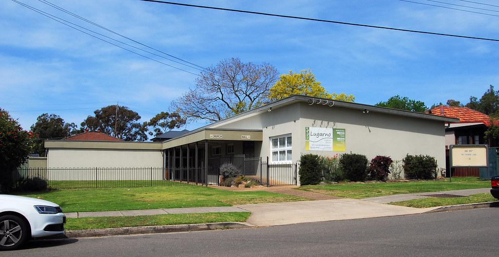 Lugarno Anglican Church, Lugarno, Sydney, NSW.
