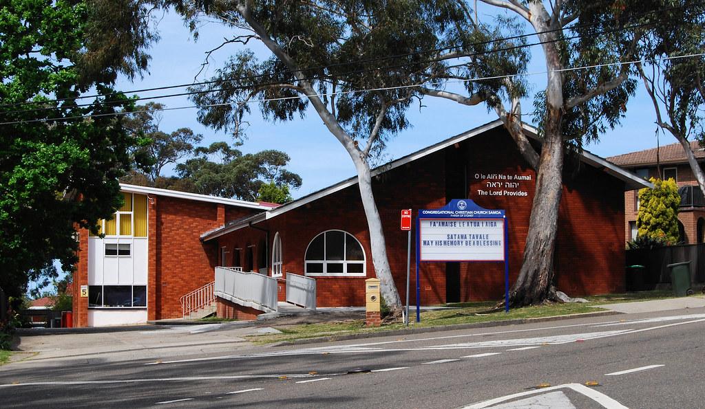 Congregational Christian Church Samoa, Lugarno, Sydney, NSW.