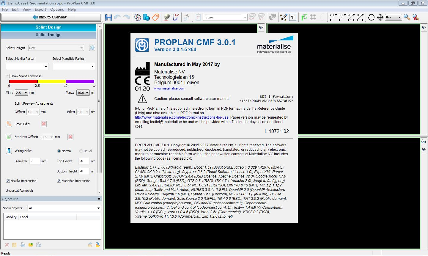Working with Materialise ProPlan CMF 3.0.1 full license