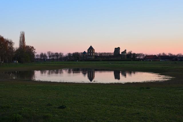 Montfort Castle in the evening (2).