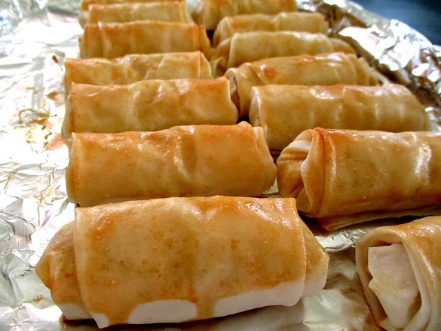 Melissa's baked rolls