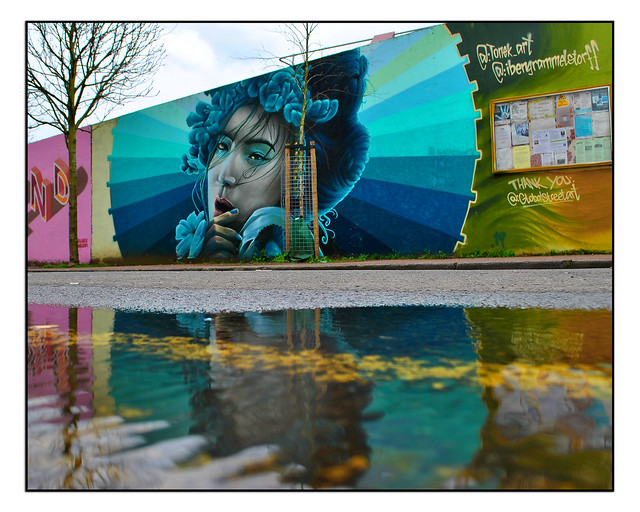 LONDON STREET ART by IBEN GRAMMELSTORFF & TONEK