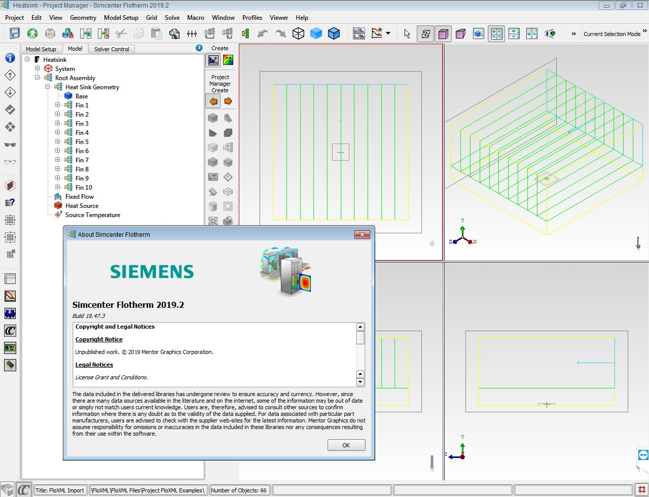 Working with Siemens Simcenter FloTHERM 2019.2 full license