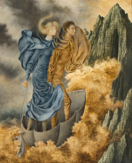 Remedios Varo, Die Flucht - The Escape