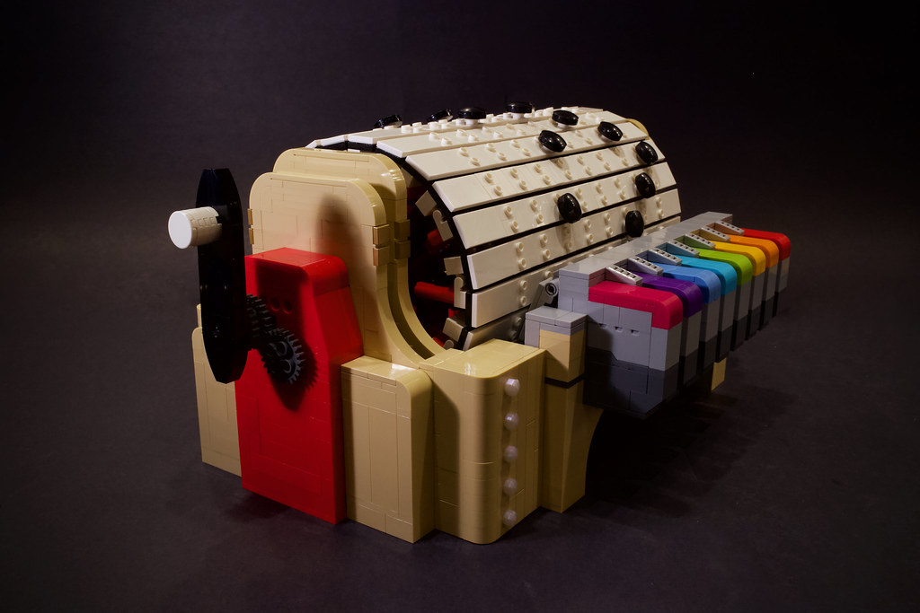 Lego Music Box