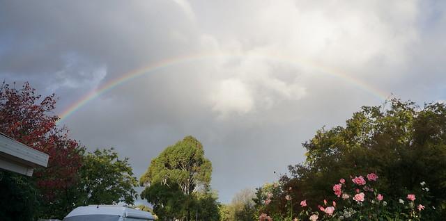 Rainbow from Garage