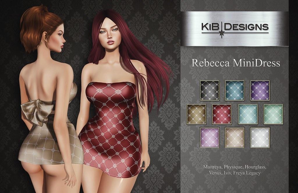 KiB Designs – Rebecca MiniDress @anyBODY Event