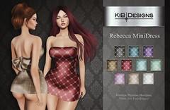 KiB Designs - Rebecca MiniDress @anyBODY Event