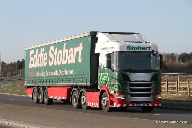 Eddie Stobart. Victoria Catherine H5656