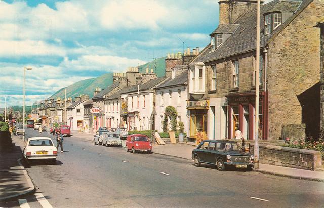 Bridge Street, Dollar old postcard c.1970