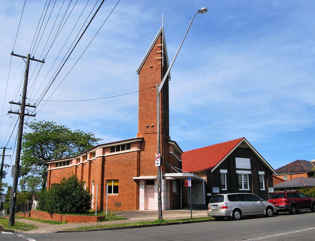 Wesley Penhurst Uniting Church, Penshurst, Sydney, NSW.
