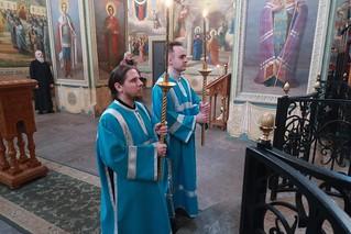 04.04.2020 | Литургия в Иверском монастыре