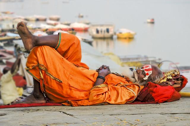 Sleeping Sadhu   ( Explore )