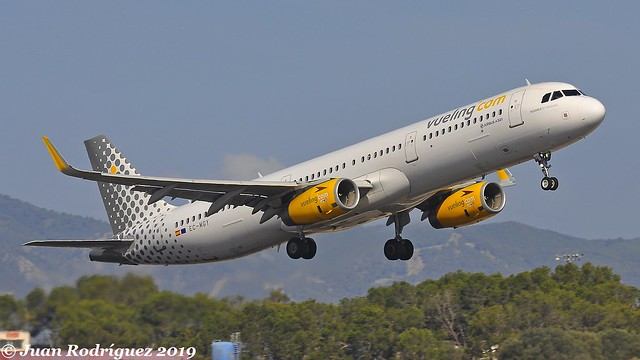 EC-MGY - Vueling - Airbus A321-231(WL) - PMI/LEPA