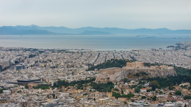 Athens from Lycabettus