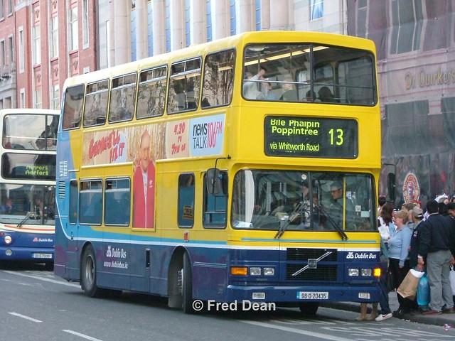 Dublin Bus RV435 (98D20435).