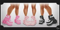 ミ★●-*Epic* Arisa's Foot.Geared Sneakers! {NEW! For The Saturday Sale Event 4/04! Promo Card} Ad-●★彡