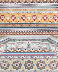Ceiling of Patrika Gate, Jaipur