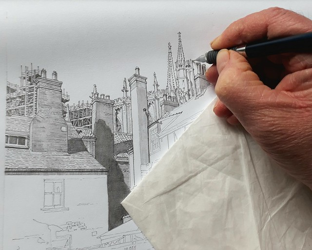 Finishing the Minster (WiP 2)