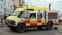 Event Fire Crews Land Rover