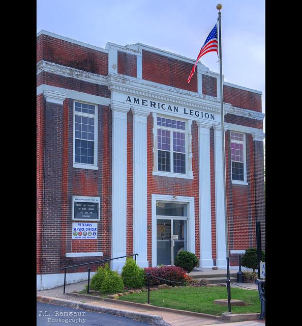 American Legion Post 99 building - Sparta, Tennessee