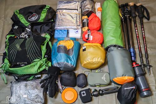 Summer Wildcamping Bag.