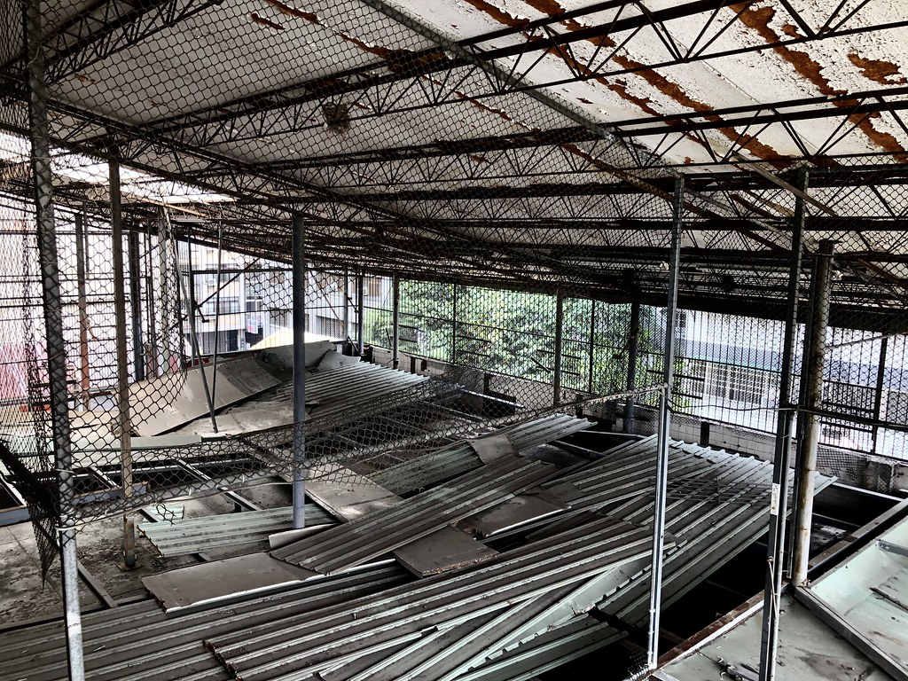 「天外天劇場」歷經時代演變,目前還保留了鴿舍的遺跡。  攝影/蕭紫菡